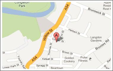 map - Contact Us - Berisfords Ribbons